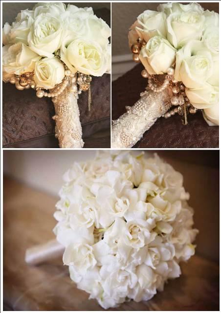 Букет невесты без портбукетницы своими руками 24