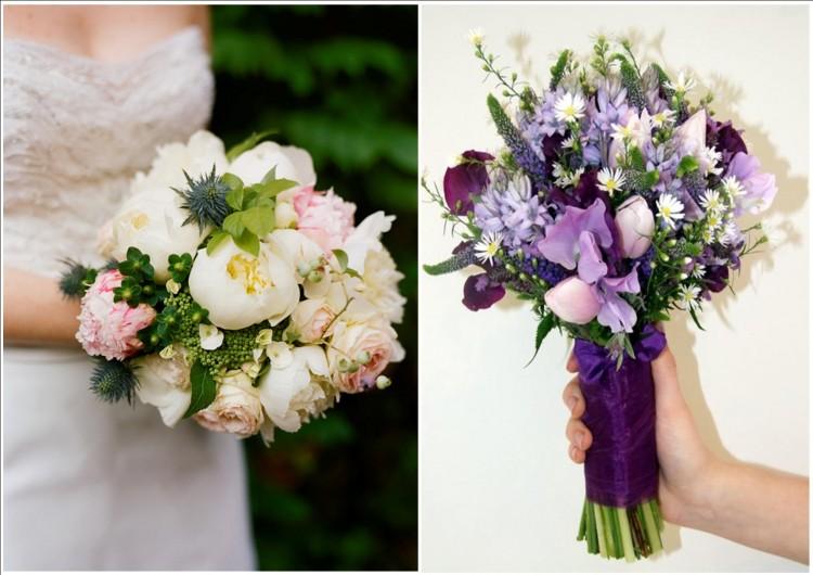 Простые букеты невесты своими руками