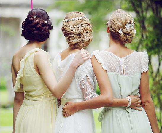 Прически своими руками на свадьбу к подруге