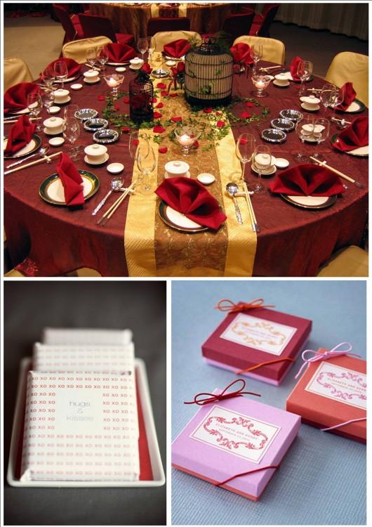Бело красная свадьба