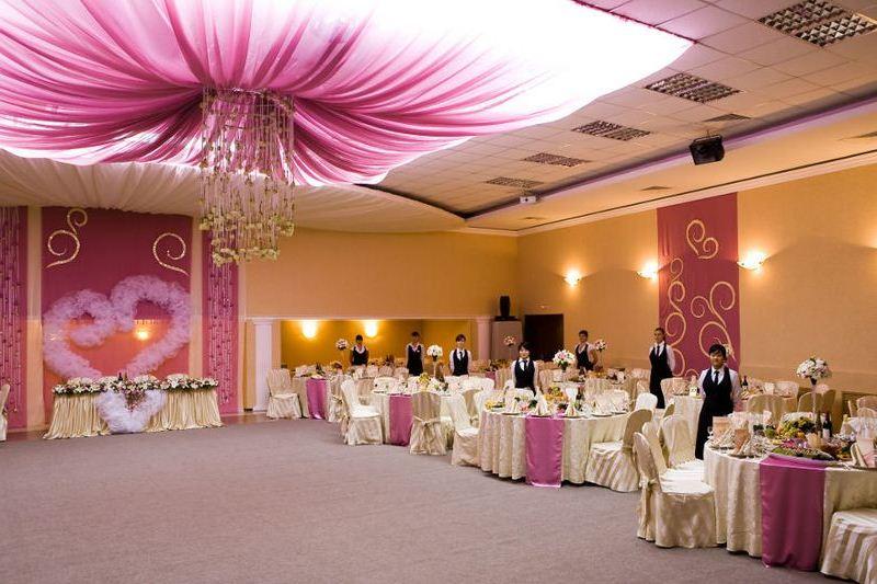Дизайн залов для свадьбы