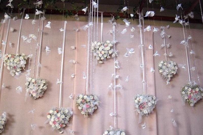 Свадебное оформление залов своими руками